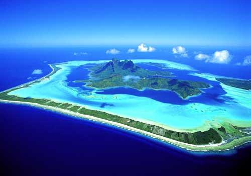 Isla Bora Bora en Oceanía