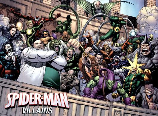 Los 10 villanos de Spider-Man