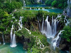 1. Cascadas Lagos de Plitvice