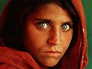 1. Niña afgana (1984).