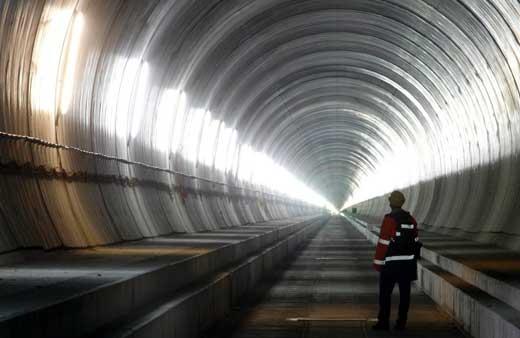 Los 10 túneles más largos del mundo