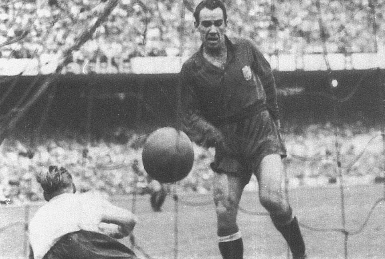 Los 10 goleadores históricos de la Liga Española de fútbol