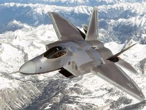 1. F-22 Raptor