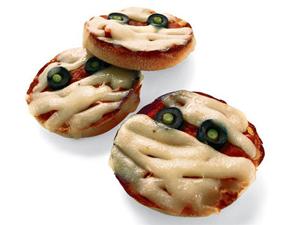1. Pizzas de momias