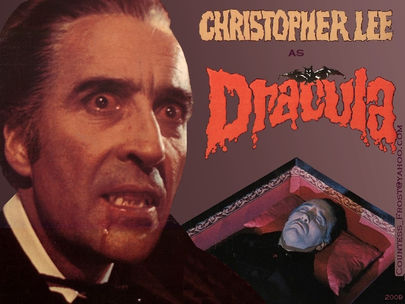 Christopher Lee - Drácula