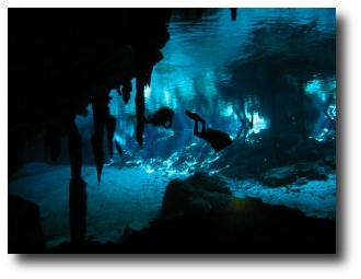 1. Buceo en cuevas