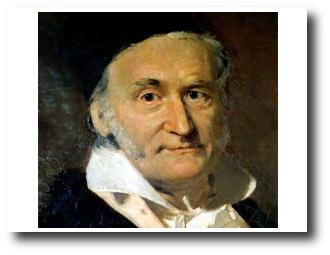 1. Carl Friedrich Gauss