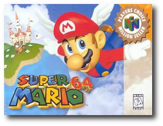 1. Super Mario 64
