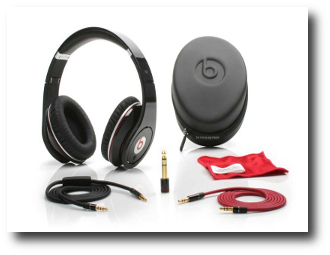 2 Monster Cable Beats Noise Isolating Headphones