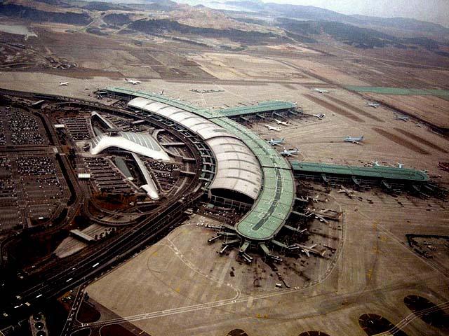Aeropuerto Internacional de Incheon en Seúl