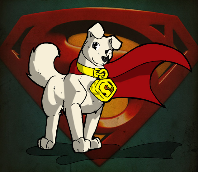 superman and superdog coloring pages - photo#32