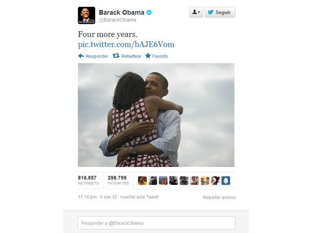 cuatro años más de Barack Obama