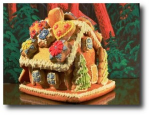 1. Casas de pan de jengibre