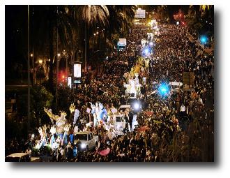 Las 10 mejores Cabalgatas de Reyes Magos en España
