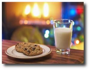 10. Leche y galletas