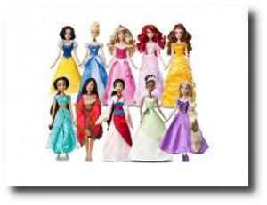 4. Princesas Disney
