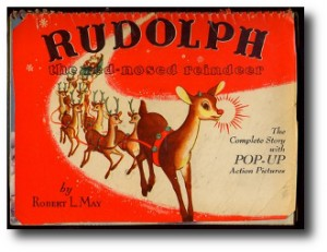4. Rudoplh the red nosed reindeer