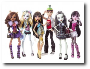 5. Mu+¦ecas Monster High