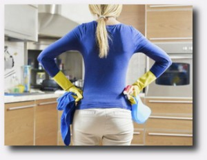 8. No utilizar productos quimicos de limpieza
