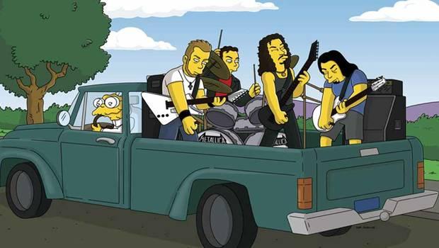 Metallica en Los Simpsons