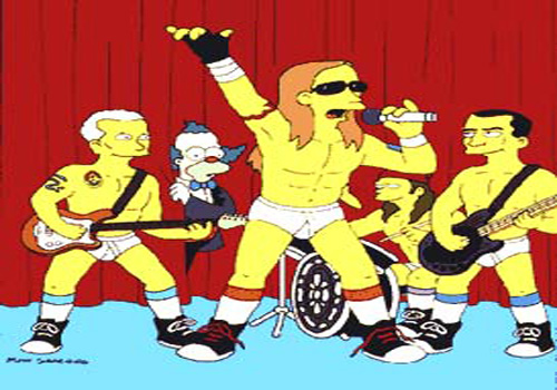 Red Hot Chili Peppers en Los Simpsons