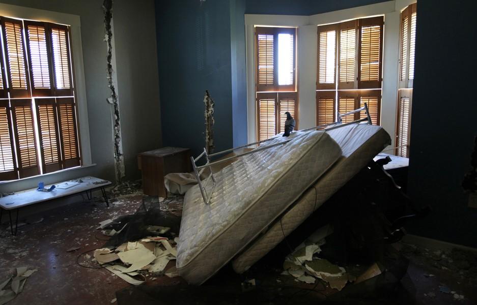 vandalized home of Katherine Dunham