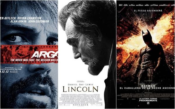 Las 10 mejores películas del 2012