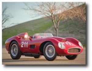 1. Ferrari 625 TRC Spider 1957