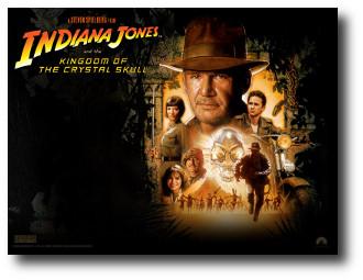 1. Indiana Jones y el reino de la calavera de cristal