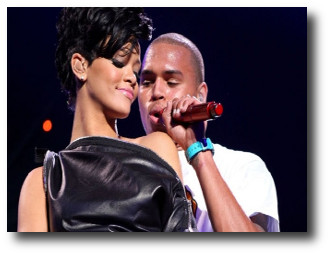 1. Rihanna y Chris Brown, pelea