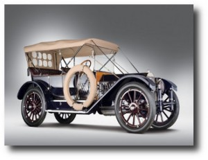 2. Oldsmobile Limited 5-Passenger Touring 1912