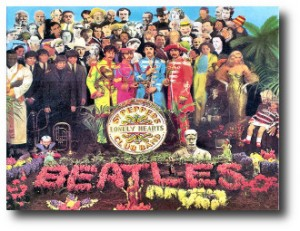 3. The Beatles - Sgt. Pepper's Lonely Hearts Club Band