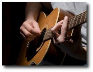 3. Tocar guitarra