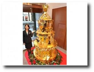 4. +ürbol de navidad de oro