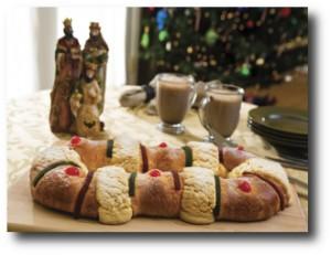 4. Incluir en el presupuesto la Rosca de Reyes