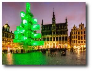5. +ürbol ded navidad de cubos de luces