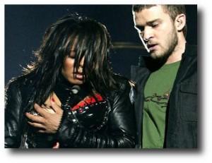5. Justin Timberlake y Janet Jackson, seno al descubierto