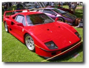 6. Ferrari F40 Berlinetta 1991