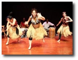 7. Baile africano
