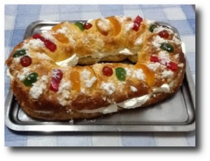 9. Rosca de Reyes casera