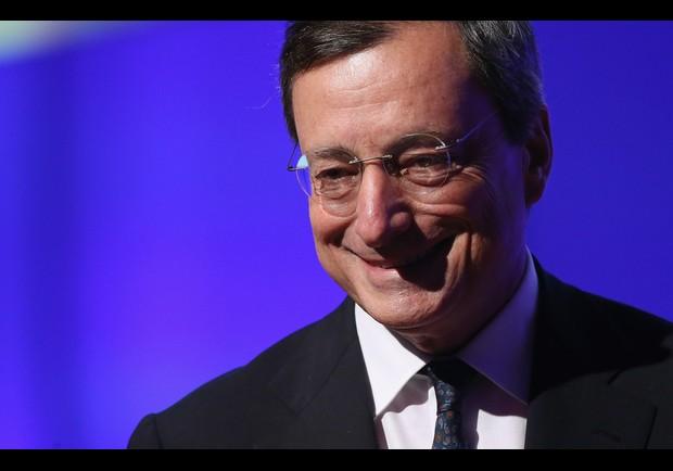 Mario Draghi In Berlin