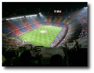 Los 10 estadios de fútbol más grandes en Europa