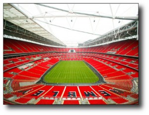 2. Wembley Stadium