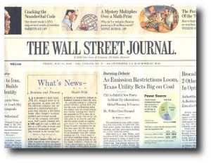 4. The Wall Street Journal