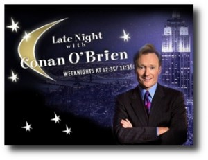 7. Late Night with Conan O'Brien