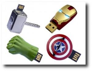 9. Memoria USB Avengers