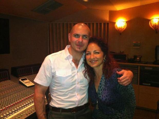 Pitbull con Gloria Estefan