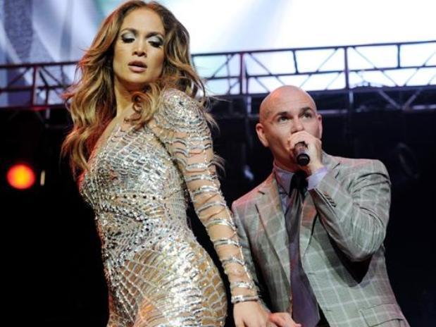 Pitbull con Jennifer López