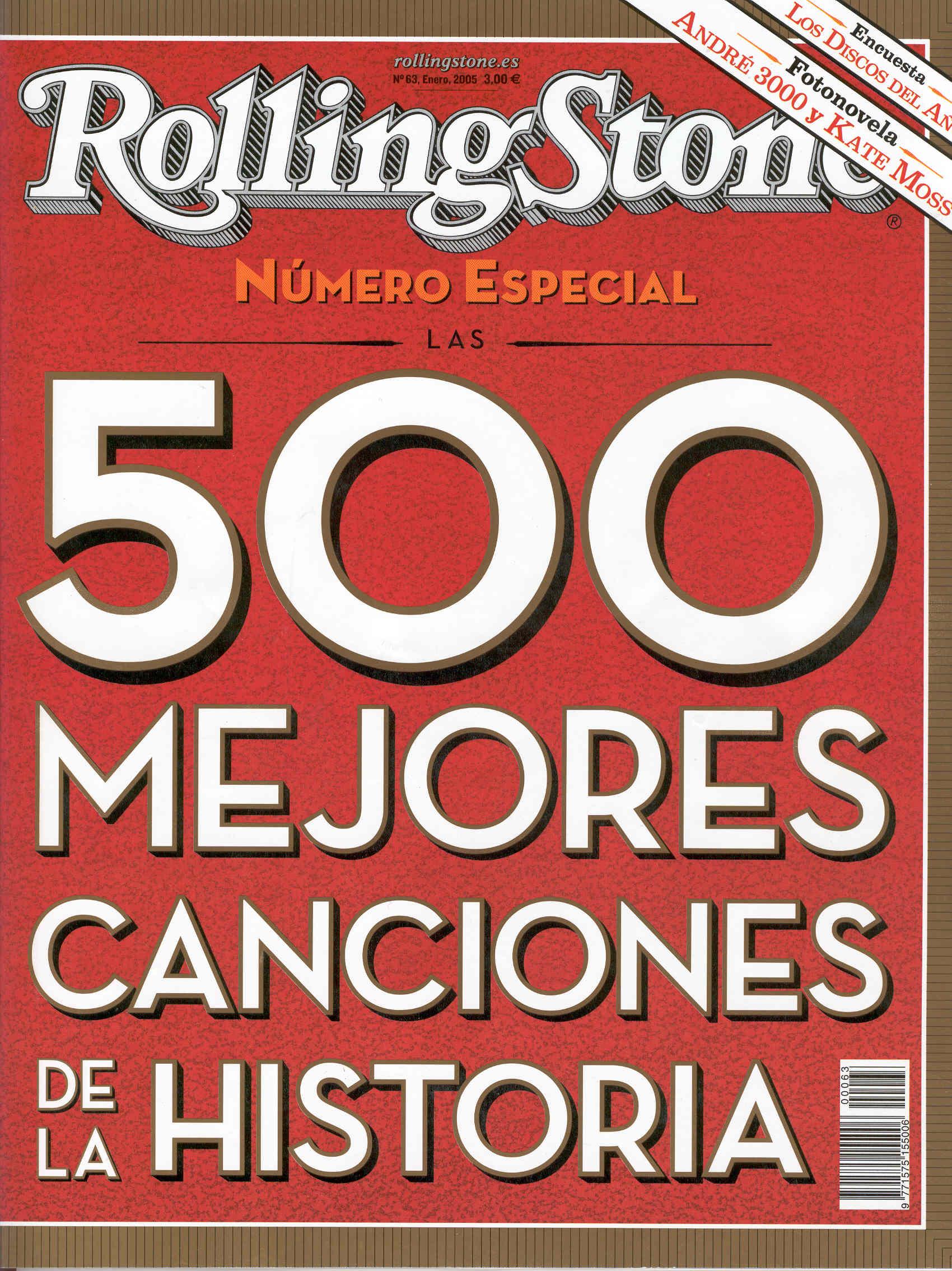 Las 10 mejores canciones de la historia (Revista Rolling Stones)