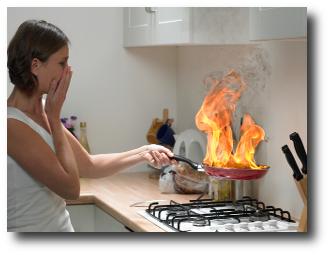 Las 10 principales causas de incendios en el hogar